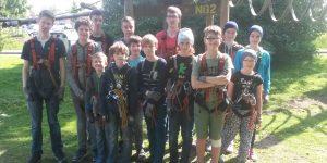 Klettergarten Gruppenfoto